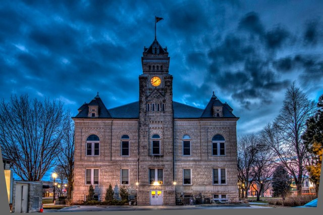 Clay County KS Courthouse 1