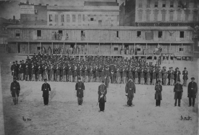 76th Illinois Volunteer Infantry in Galveston, TX