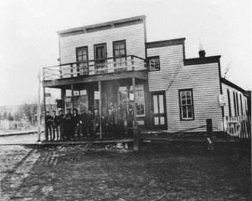 C H Pinkham General Store South Bend Nebraska 1880