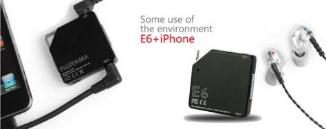 FiiO 06 Portable Headphone Amplifier Connected to iPhone