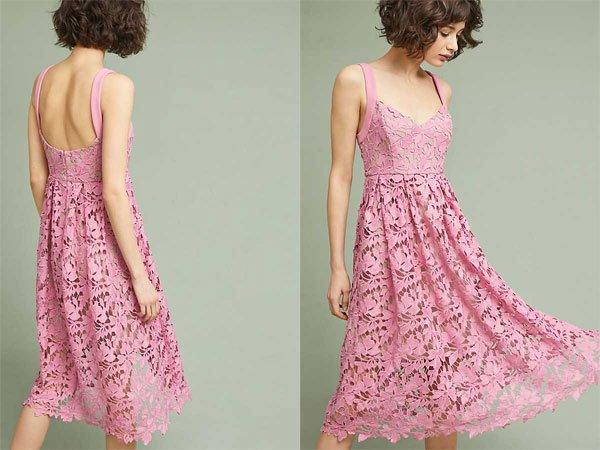 Anthropologie Rosamund Lace Dress