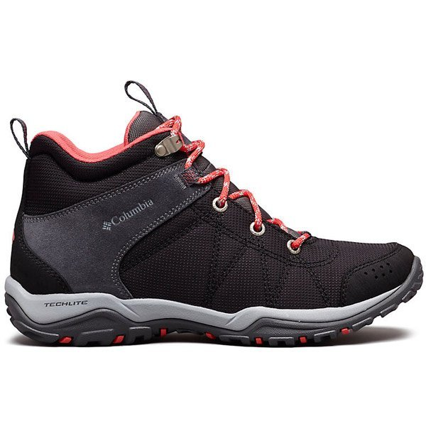 Columbia : Women's Fire Venture™ Mid Textile Boots For Long Hikes