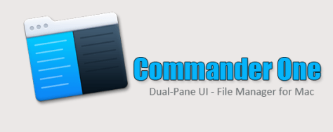 Commander One - Dual Pane UI File Management Solution for Mac