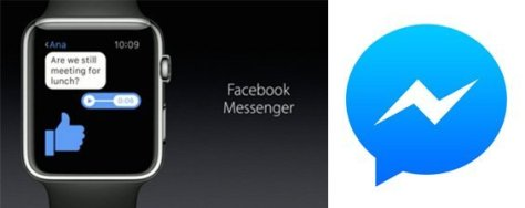 Facebook Messenger Joins Apple Watch