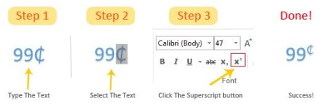 How To Insert Superscript In Microsoft Word