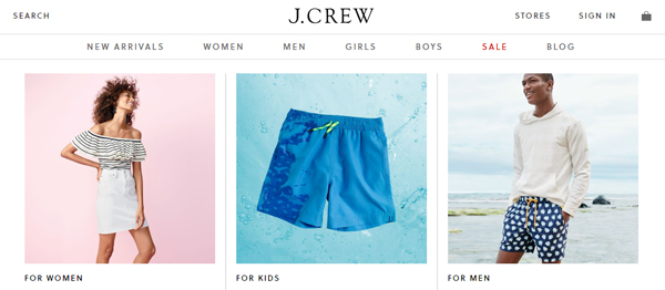 J. Crew : A Better Alternative Clothing Store to Forever 21