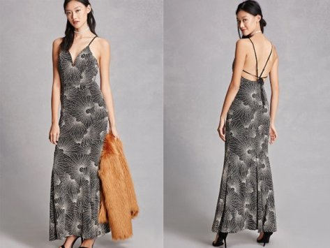 Metallic : Maxi Styled Prom Dresses At Forever 21