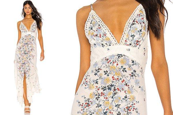 Paradise Printed Maxi Dress at Revolve Clothing