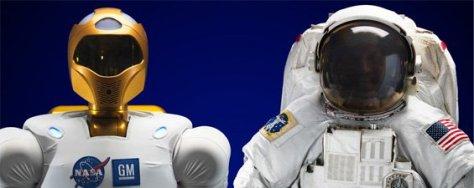 Human Astronaut Vs Robot Astronauts