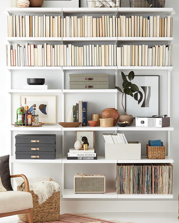The Container Store Bookshelves