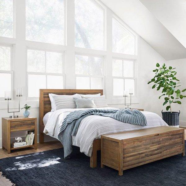 West Elm Modern Solid Wood Beds