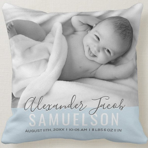 Zazzle Nursery Decorative Pillows With Photos