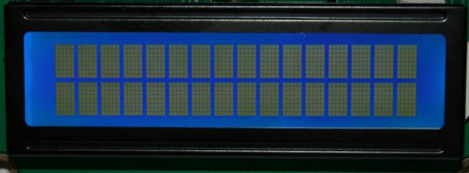 Affichage des matrices 5X8.