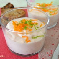Mousse de saumon à l'orange