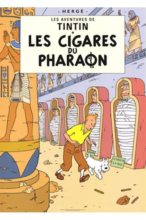 Faraos cigarer - tintin