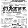 Citat plakat - Diamant