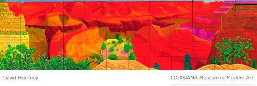 David Hockney - Louisiana - A closer grand canyon