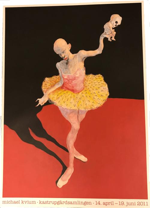 MIchael Kvium - Double Dancer
