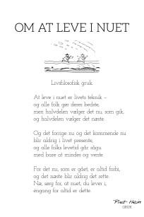 Piet Hein - Gruk - om at leve i nuet