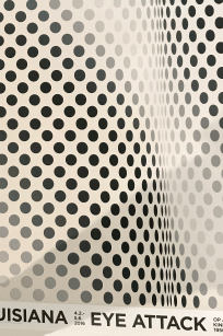 Louisiana - Bridget Riley Pause - eye contact