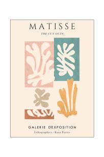 Henri Matisse - Cut outs - Exhibition Poster Gallerie D'Exposition
