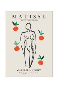 Henri Matisse - nude with oranges