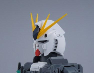 ガンプラ【MG νガンダム Ver.Ka】レビューその③ 頭部及び腕部内部フレーム制作
