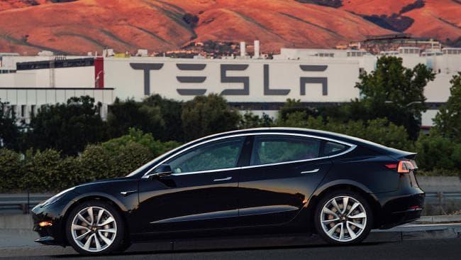 Fabrica de Tesla en Estados Unidos