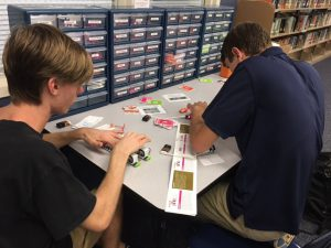 Photo of students making music with LittleBits