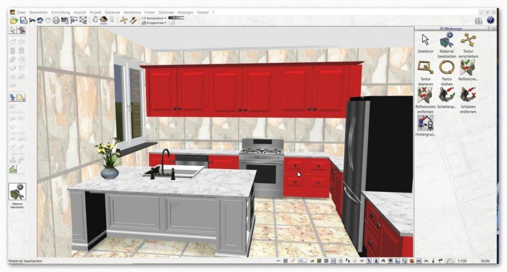 3d cad kuchenplaner software programm