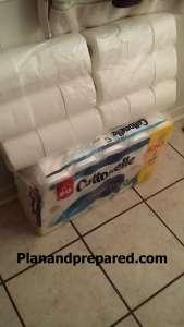 Toilet paper stock