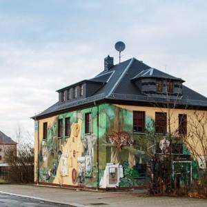 jugendclub in glauchau (Scherberg)