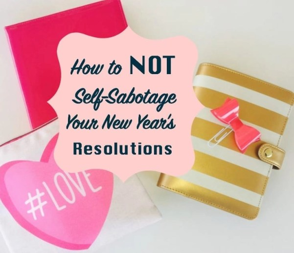 How to accomplish your New Year's Resolutions and goals with out quitting.