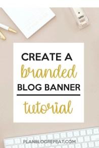 Create a Branded Blog Banner Tutorial