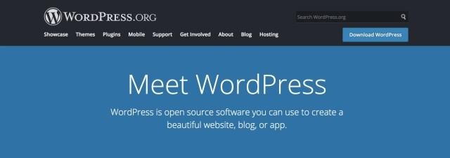 Start a blog with WordPress.