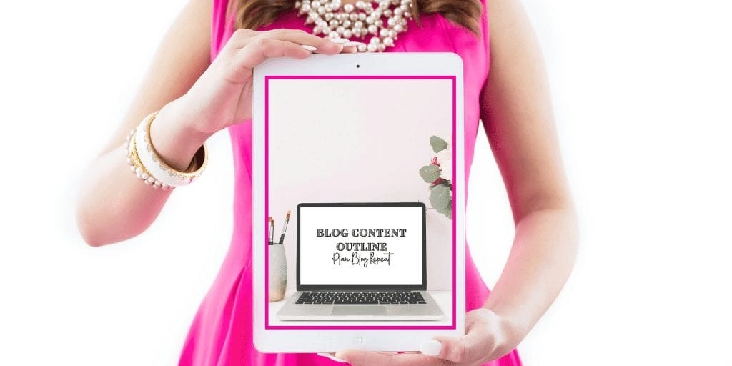 Blog Content Outline Cover