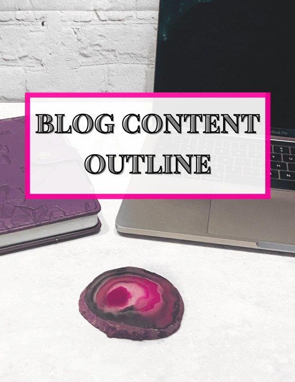 Plan Blog Repeat Blog Content Outline Cover