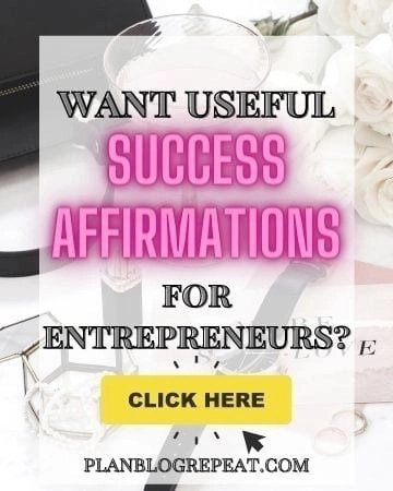 Success Affirmations For Entrepreneurs