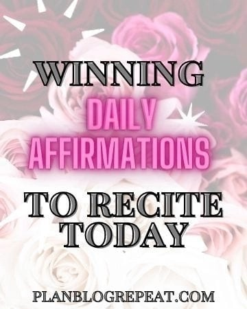 Winning Daily Affirmations