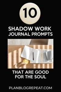 shadow work journal prompts that are good for the soul