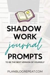 shadow work journal prompts