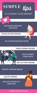 change your mindset infographic