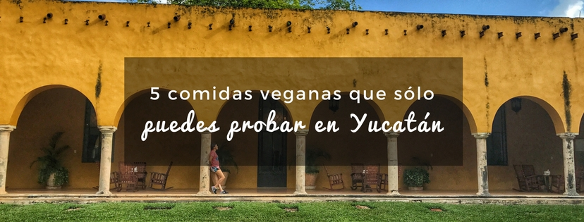 plan b viajero, turismo sustentable, comidas veganas de yucatán, platillos veganos yucatecos