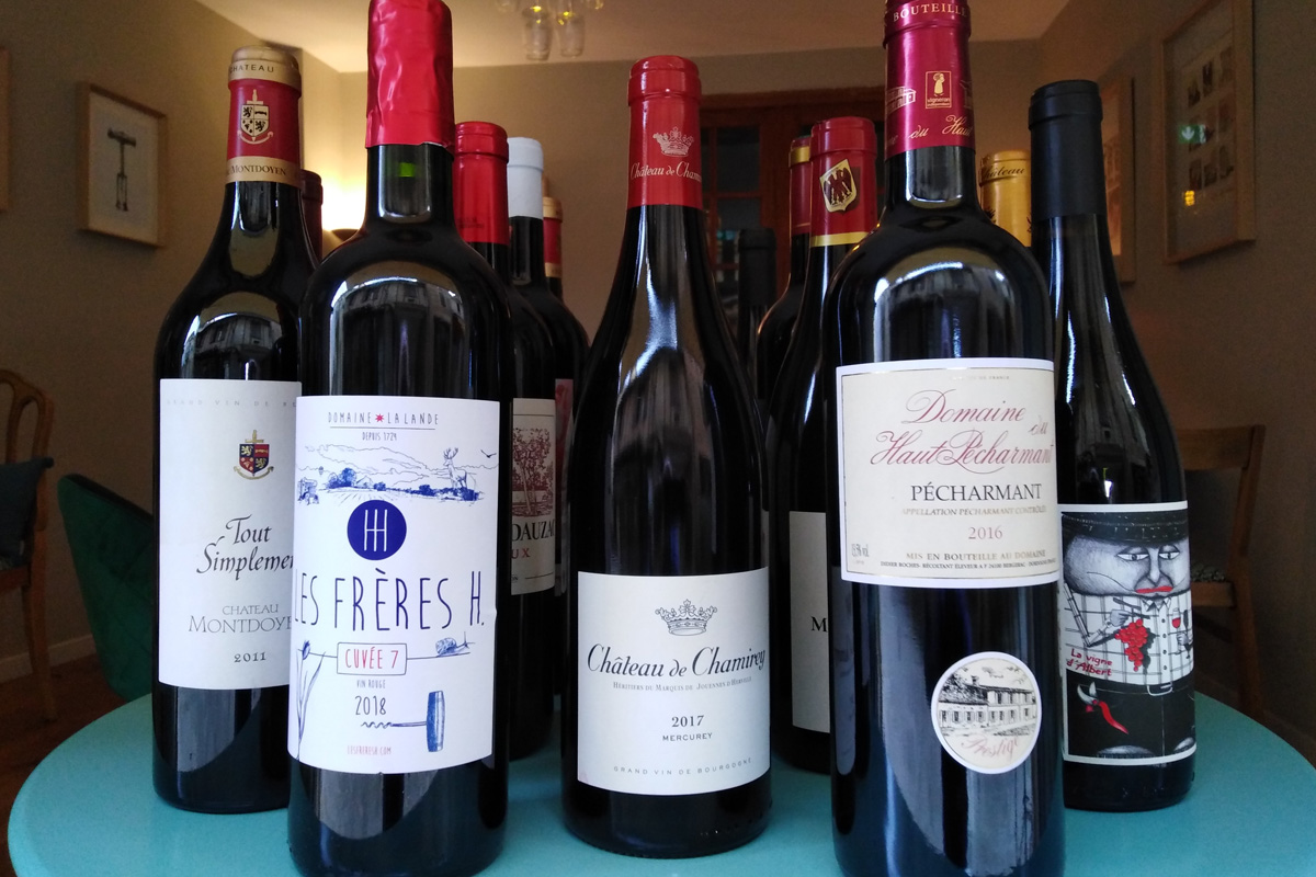 Nos vins rouges