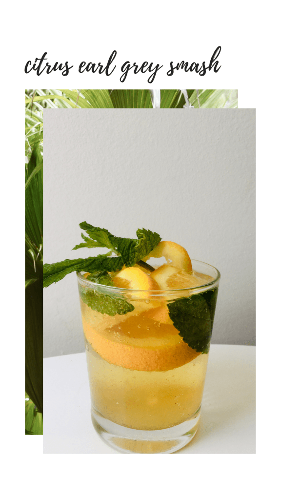 citrus earl grey iced tea