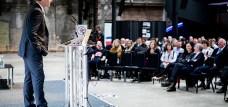 Neil Stephenson speaking at Newcastle Startup Week 2017
