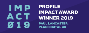 Impact Awards 2019 Winner Badge