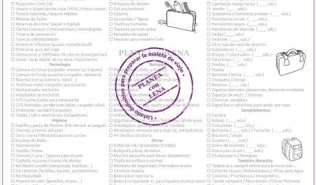 Imagen Checklist Equipaje