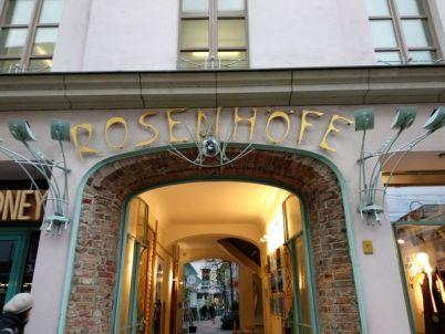 Patio interior de Rosenhöfe