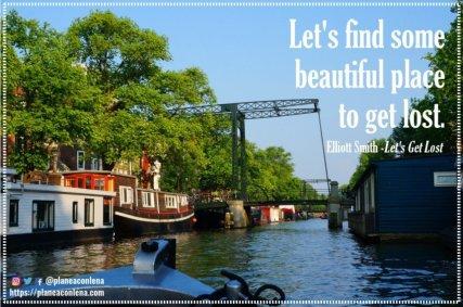 'Busquemos un lugar hermoso para perdernos.' - Elliott Smith (Let's Get Lost)